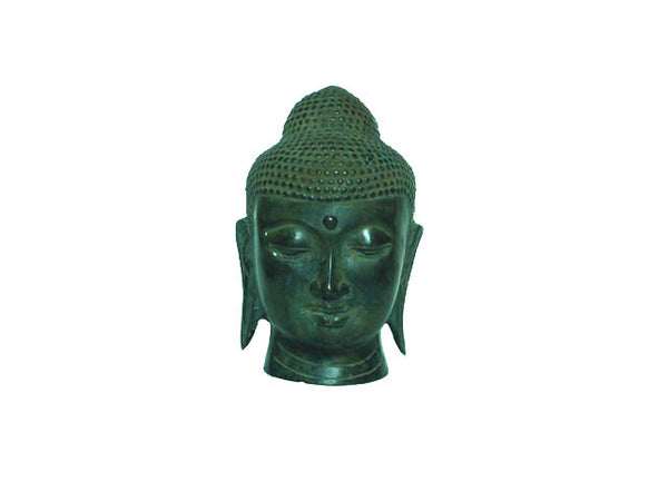 Bronze Buddha Head (Out of Stock)