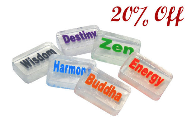 Tranquil Wording Glycerin Soap
