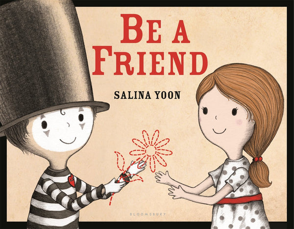 Cover of book Be a Friend by Salina Yoon