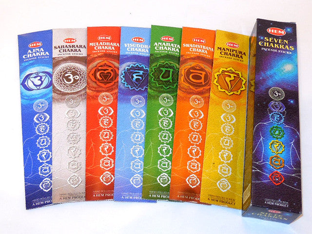 Seven Chakras Incense Sticks ( Out of Stock )