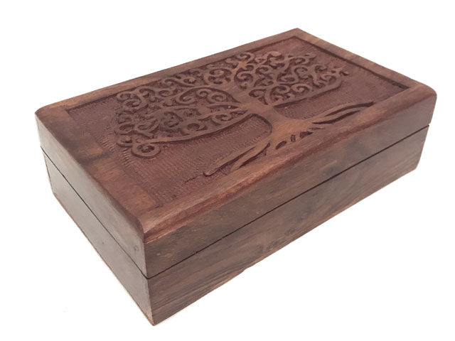 Accessories Wooden Box - Tree of Life