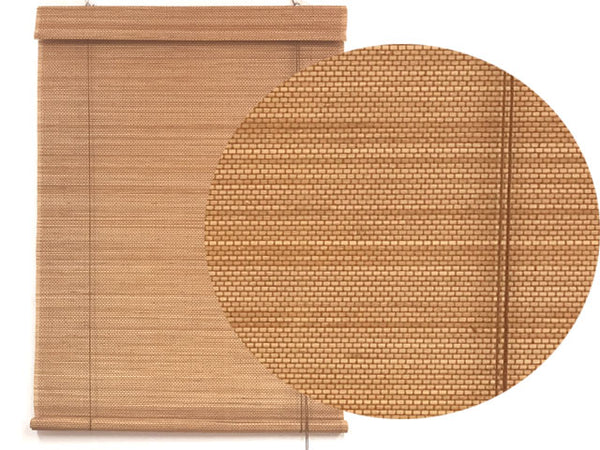 4.8 mm Thick Bamboo Blind with Valence (#2)