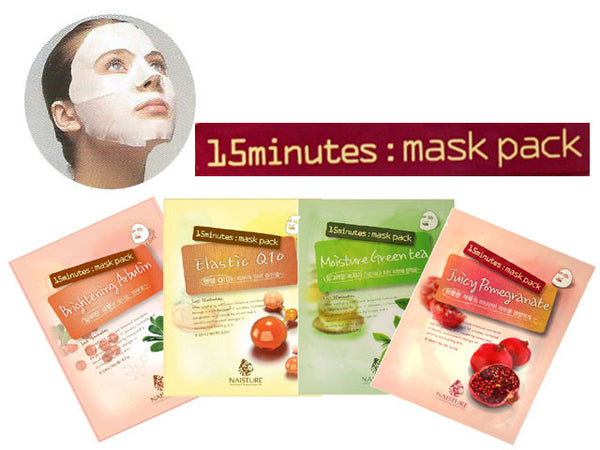 15 Minute Sheet Mask (5 pcs Pack)