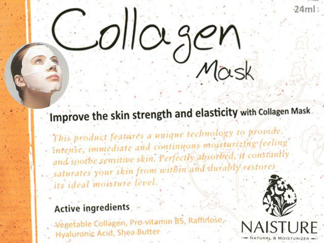 Cotton Sheet Masks by Naisture (5-packs)