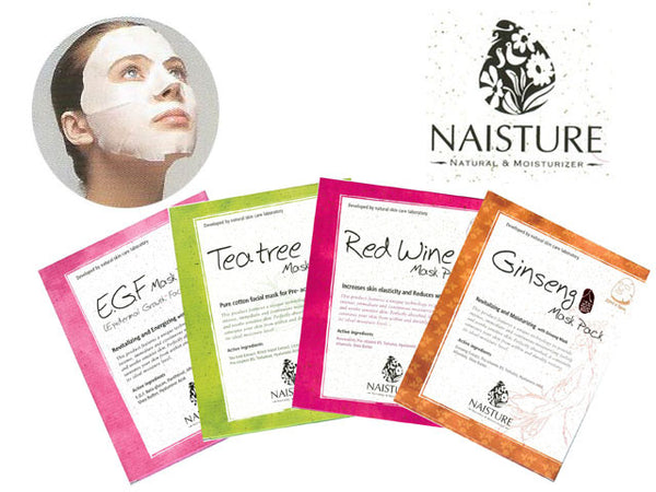 Cotton Sheet Mask by Naisture  (5 pcs Pack)