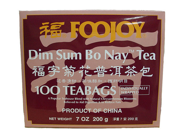 Foojoy Dim Sum Bo Nay (Pu-Erh)Tea - Teabag