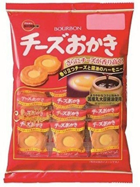 Bag of bourbon cheese okaki