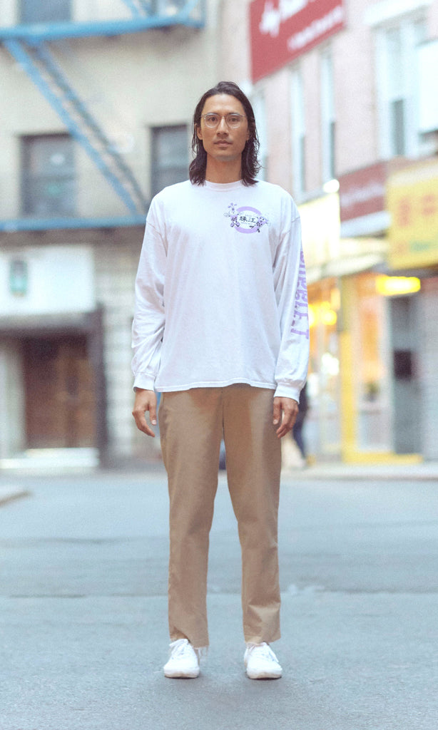 Limited Edition BUBBLE_T x Pearl River Mart Long Sleeve T-Shirt