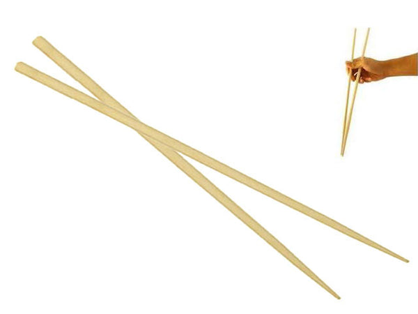 Extra Long Bamboo Chopsticks - 18 in. (45cm)