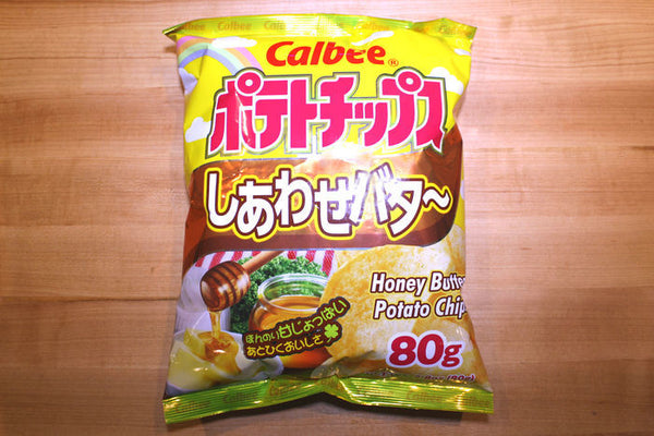 Calbee Honey Butter Potato Chips 80g
