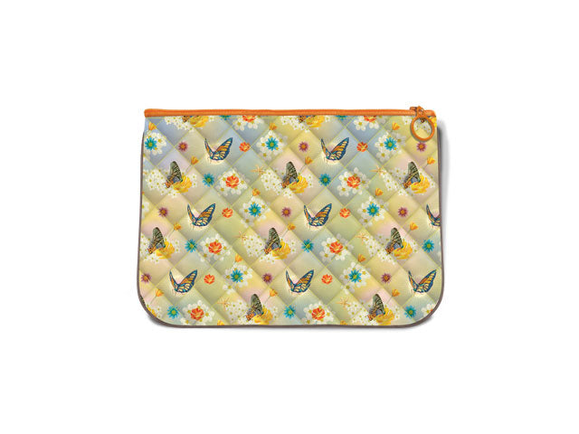 "Quilted Handy Fabric Pouch 10.5"" X 7.5"""