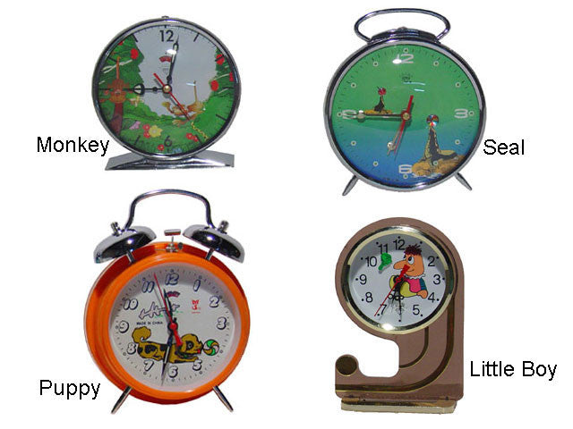Classic Wind-Up Clock - Seal