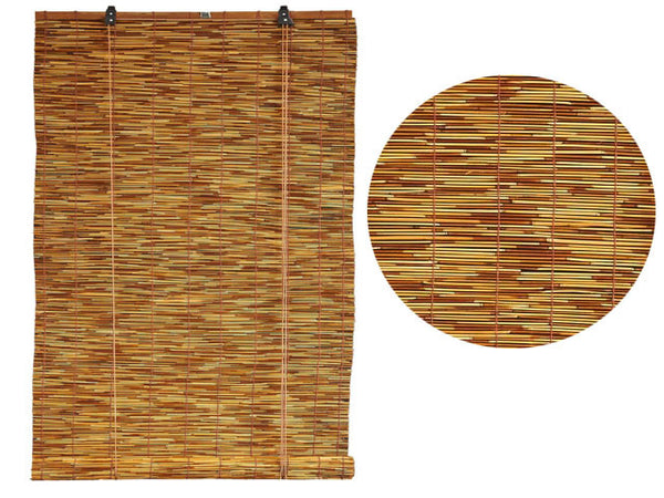 Reed Roll Up Blinds - Dark Reed