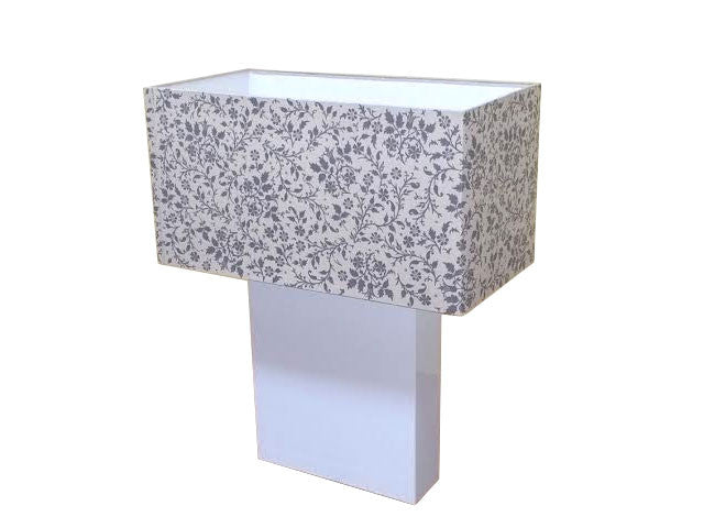 White Base Shangri-La Table Lamp