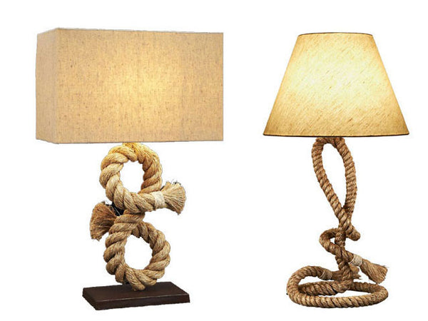 Pier Rope Table Lamp