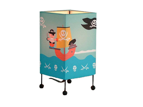 Kids Table Lamp - Pirate Design