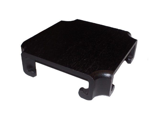 Cut Angle Wooden Stand - Black