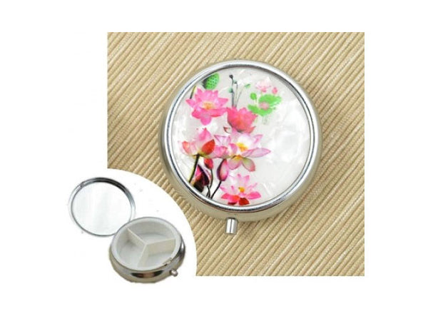Pearl Flower Pill Box (Out of Stock)