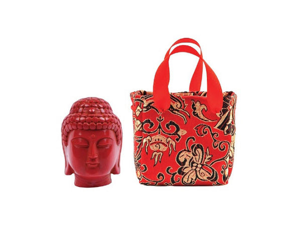 Buddha Head in a Bag
