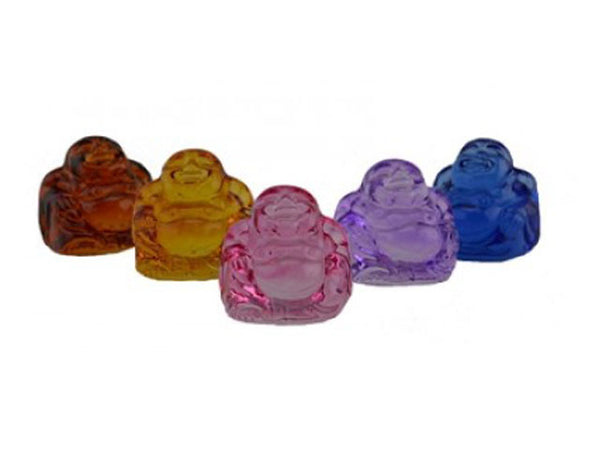 Crystal Buddha Set of 5