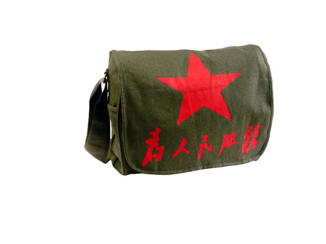 Serve The People Army Messenger Bag
