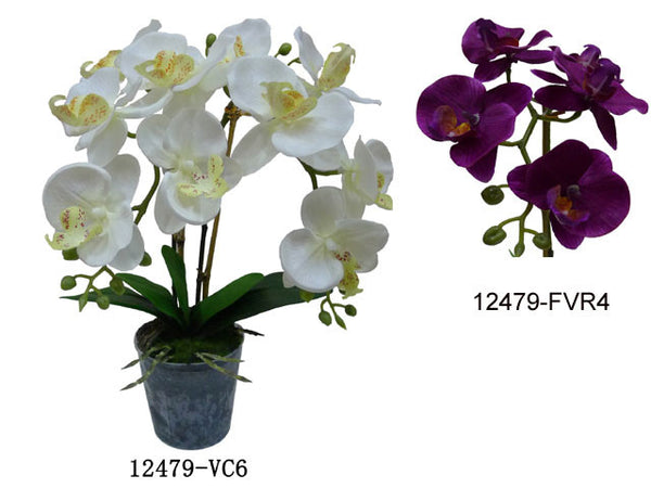 Artificial Flowers - Orchid (22in.)
