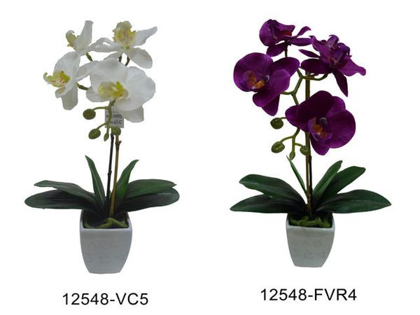 Artificial Flowers - Orchid (16in.)