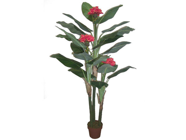 "Artificial Plant - Monarch Flowers  (70"" H.)"