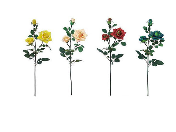 Artificial Flowers - Rose Branch