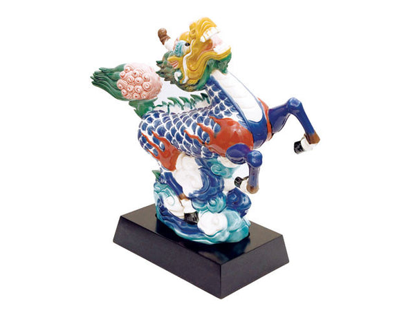 Colorful Qi Lin Statue