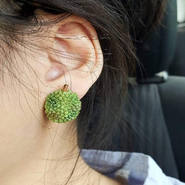 durian earrings