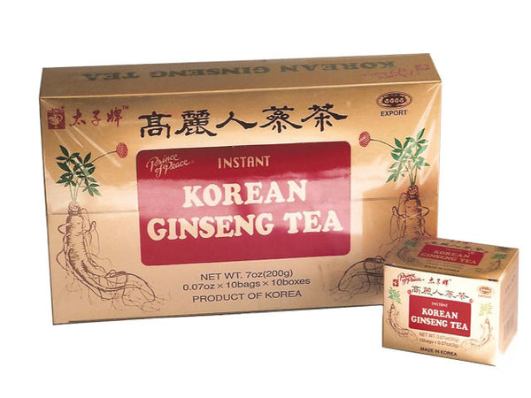 Instant Korean Ginseng Tea - Prince of Peace Brand