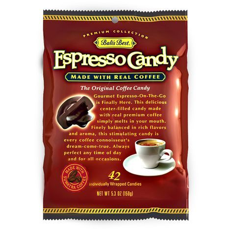 Bali's Best Premium Collection Cafe Espresso Candy