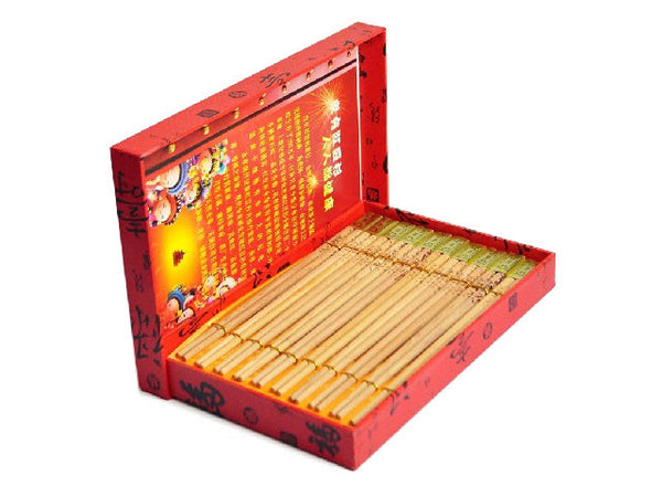 Chinese Yew Wooden Chopsticks - 9.75 in.