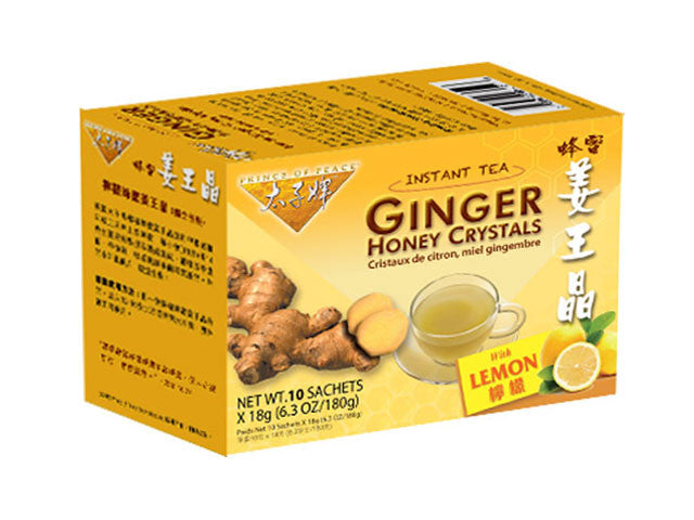 Ginger Honey Crystals (Prince of Peace Brand)