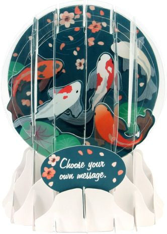 Pop-Up Snow Globe Greeting Card