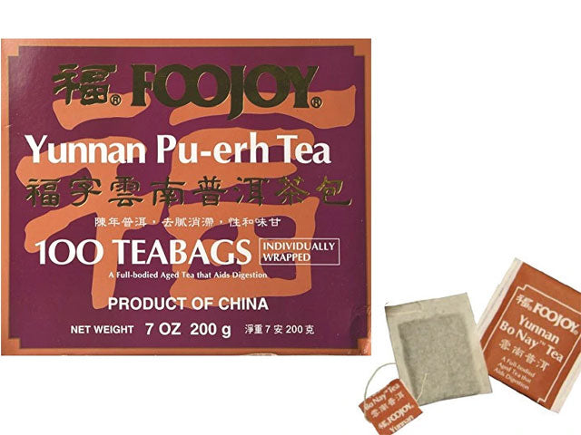 Foojoy Yunnan Bo Nay (Pu-Erh)Tea - Teabag