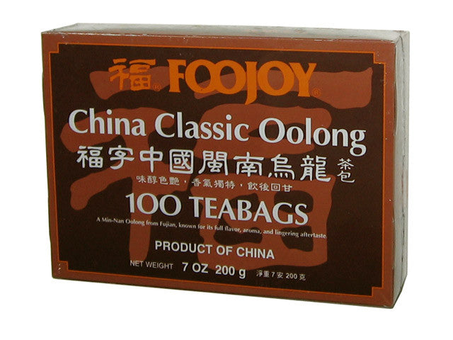 Foojoy China Classic (Min-Nan) Oolong  - Teabag