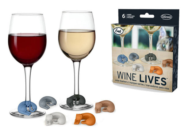 Wine Lives (Wine Glass Marker)