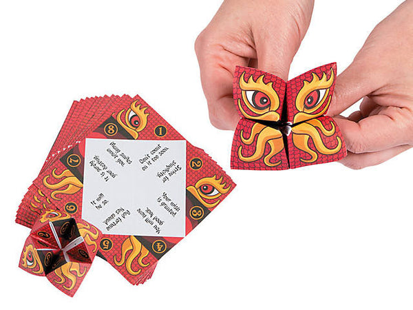 Chinese New Year Fortune Teller Games (Pack of 24 sheets)