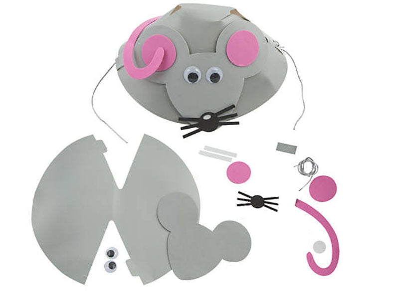 Chinese New Year of the Rat Hat Craft Kit - Pack of 6