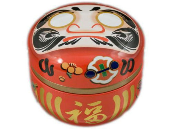 Daruma Tin Canister ( Temp out of Stock )