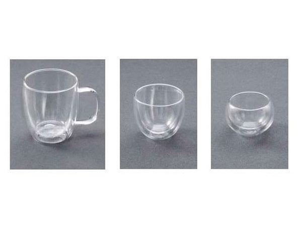 Double Wall Glass Mug / Tea Cups