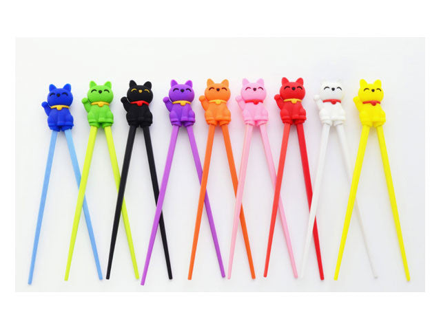 Chopstick Helper - Cat