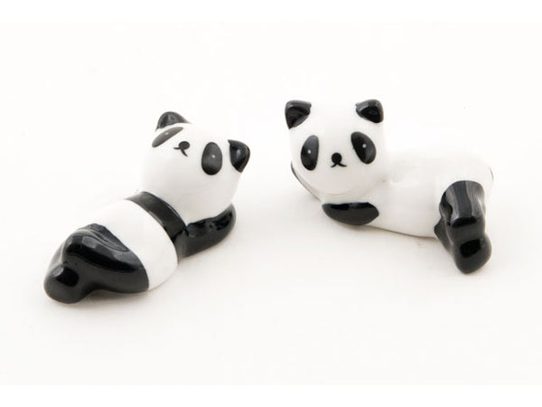 Ceramic Panda Chopstick Holder