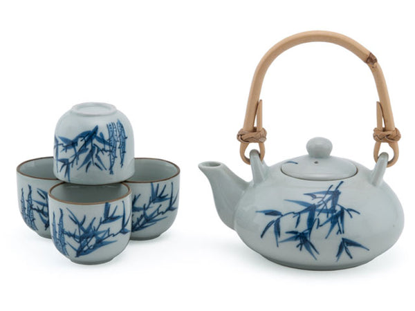 Bamboo Design Tea Set