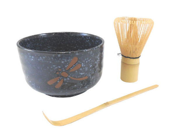 16 oz. Matcha Bowl Set - Dragonfly