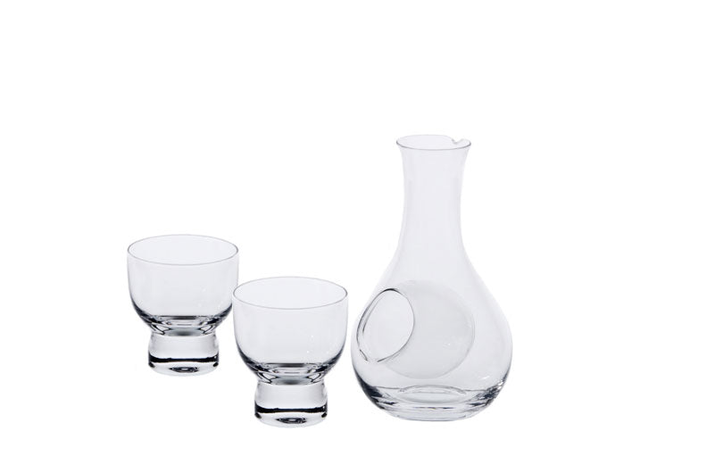 Glass Sake Bottle / Cup