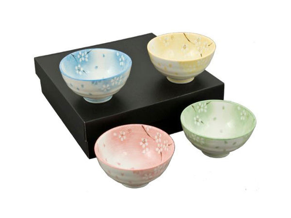 Blossom Design Bowl Set  (4.5 inch)