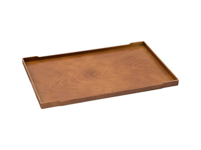 Wood-grain Design Plastic Serving Tray